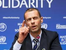 UEFA-baas Ceferin over plan Infantino: Voetbal is niet te koop