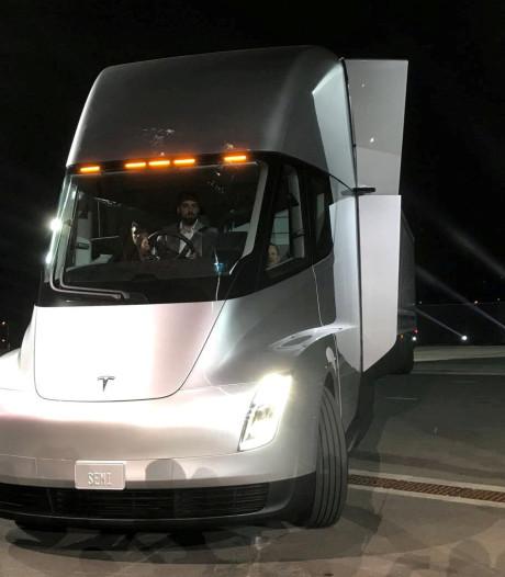 Tesla wil met elektrische truck aan Duits verbod ontkomen