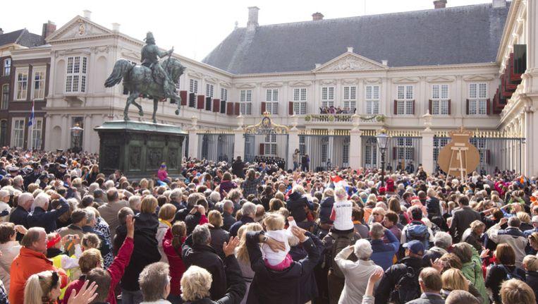 Prinsjesdag trok vorig jaar ook zo'n 40.000 toeschouwers. Beeld anp