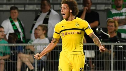Van een straf debuut gesproken: invaller Witsel meteen de held bij Dortmund, dat na verlengingen afrekent met Duitse tweedeklasser