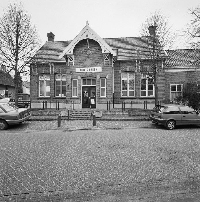 Een archieffoto van het Grienselhof in Den Dungen.