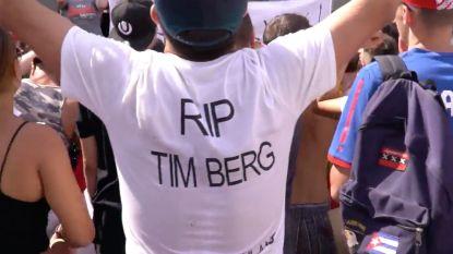 Huilen en dansen voor Avicii: campinggangers Tomorrowland eren Zweedse dj op Dreamville