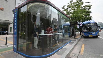 Innovatieve bushokjes tegen corona in Zuid-Korea