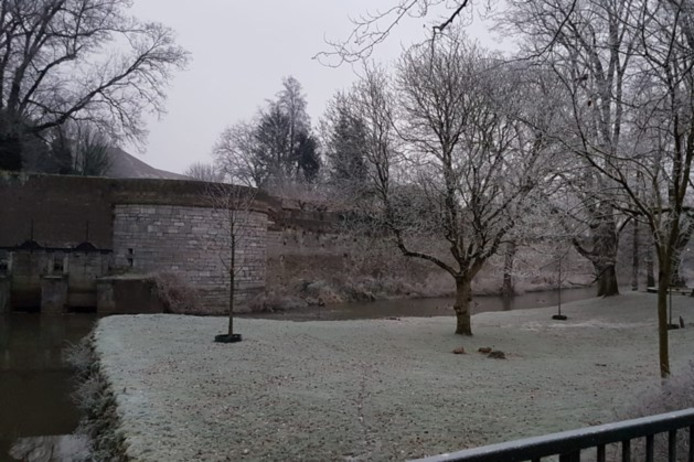 Sneeuw in Zuid-Limburg.
