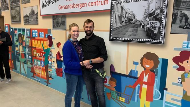 Evy en Pieter openen nieuwe Carrefour Market in mattentaartenstad