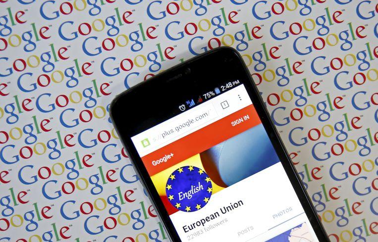 Google zou ervoor hebben gekozen het datalek te verzwijgen uit vrees voor reputatieschade.