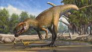 Belg ontdekt grootste vleesetende dino van Europa