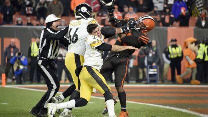 Doorgedraaide NFL-speler slaat tegenstander met helm op hoofd en wordt voor onbepaalde tijd geschorst