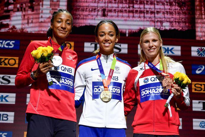 Nafissatou Thiam devra attendre 2022 pour tenter de reconquérir le titre mondial de l'heptathlon cédé l'an dernier à la Britannique Katerine Johnson-Thomson.