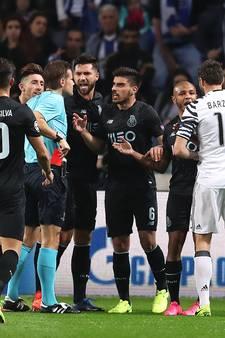 In recordtijd tweemaal geel voor Porto-speler