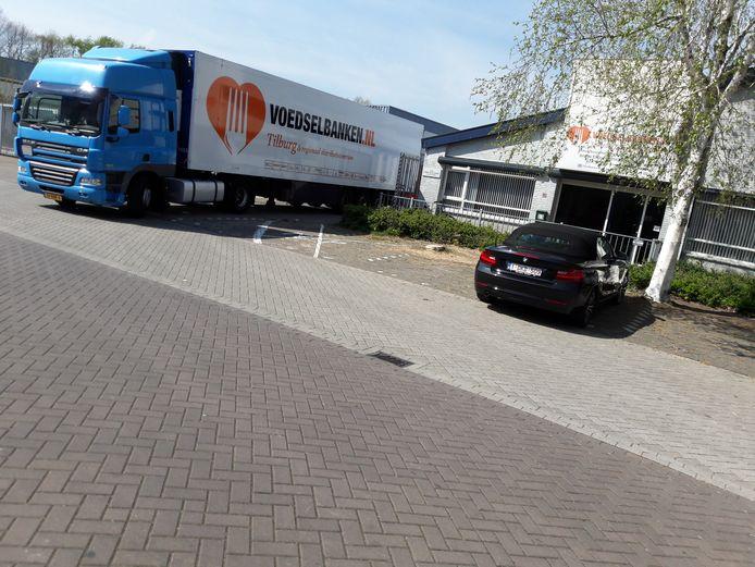 Vanuit Tilburg gebeurt de distributie van 32 voedselbanken in Zuid-Nederland.