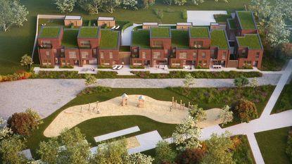 Te koop: elf woningen mét park
