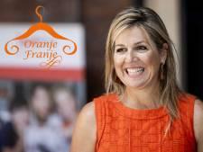 Máxima schittert (weer) in oranje: koningin is zuinig op haar kleding