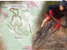 Jaap Dirkmaat wil handhaving en doet beroep op provincie: Geen mountainbikers in het bos