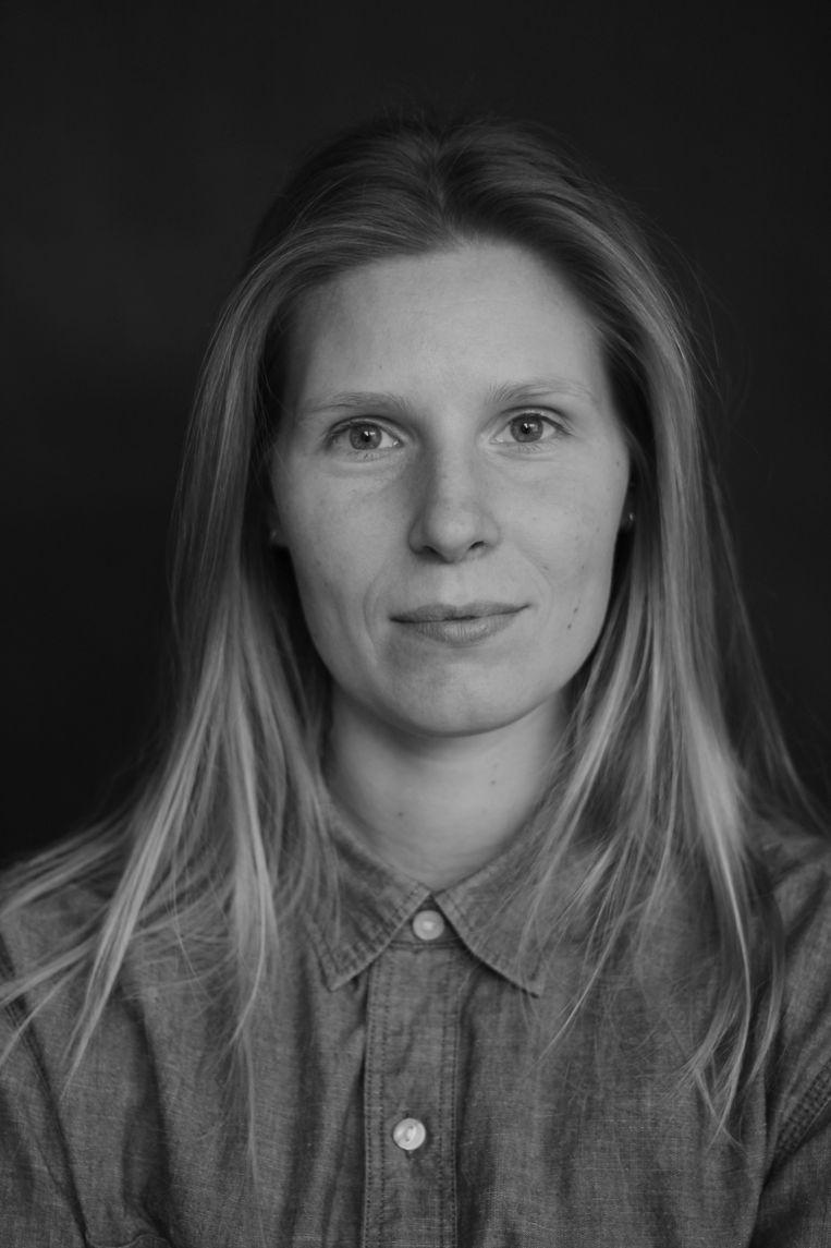 Laura Keesman is promovendus culturele sociologie van de Universiteit van Amsterdam, waar zij onderzoek doet naar geweldssituaties tijdens politiewerk. Beeld -