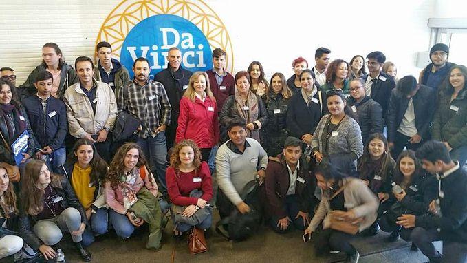Internationaal bezoek voor Da Vinci Campus