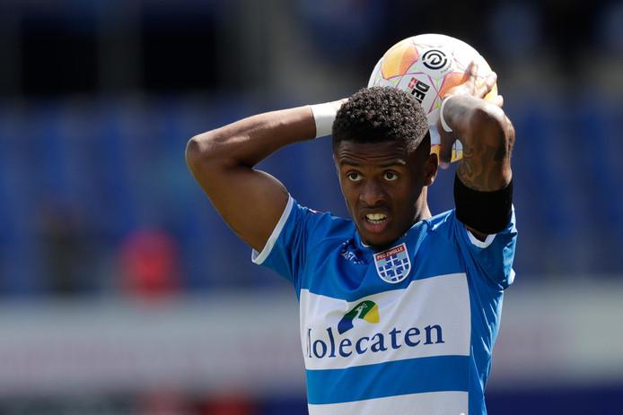 Kenneth Paal gaat tot medio 2022 tekenen bij PEC Zwolle.