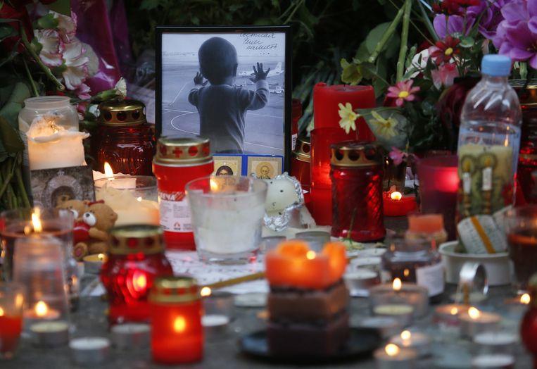 Foto van slachtoffer van de vliegtuigramp. Beeld ap