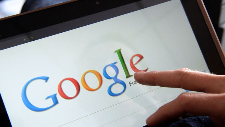 De zoekmachine van Google Beeld afp