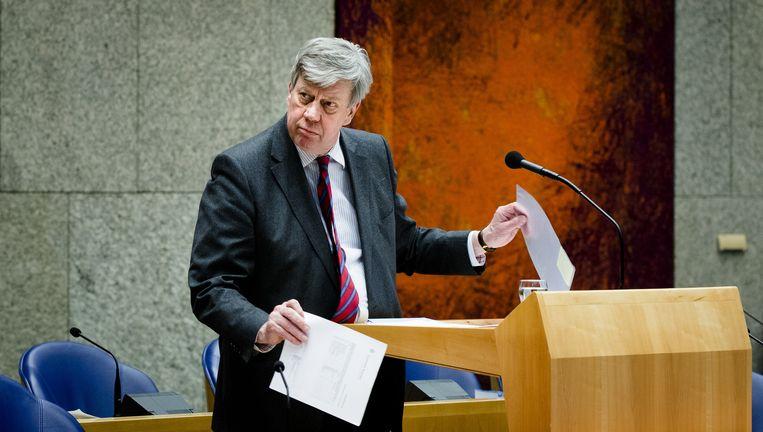 Ivo Opstelten maakte op 9 maart van dit jaar zijn aftreden bekend. Beeld anp