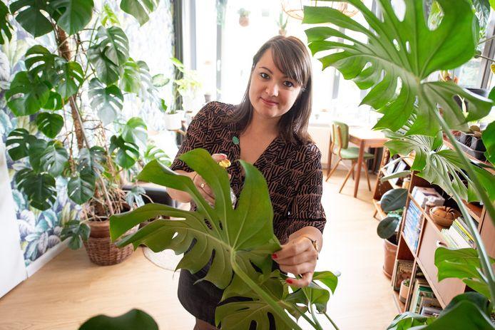 Mandy Bollegraf brengt een hip boek over planten uit, Plantastic.