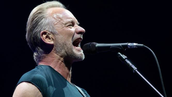 """Sting cancelt optreden op Gent Jazz vanavond: """"Verboden door de dokter"""""""