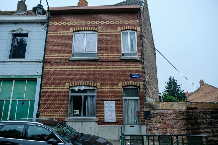 De woning waar Patrick en Isabelle tot afgelopen dinsdag woonden.