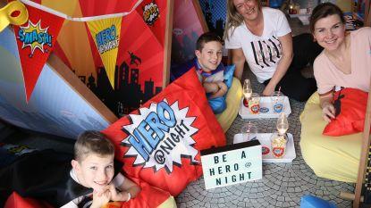"""""""Ouders zorgen voor chips, wij voor al de rest"""": Parties & Pillows biedt slaapfeestjes aan in 6 thema's"""