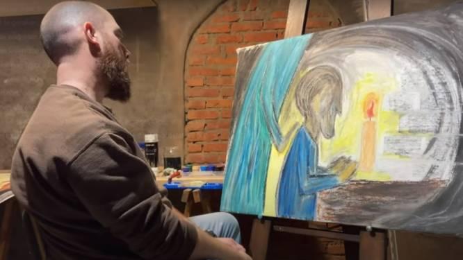 """Rappende priester Matthias Noë lanceert met 'Vast' nieuw nummer over afscheid: """"Hoop geven aan mensen die dierbare verloren"""""""