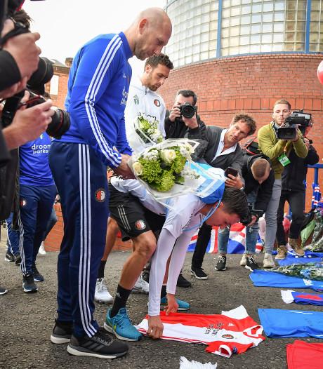 Stam en Feyenoord eren Ricksen in Glasgow