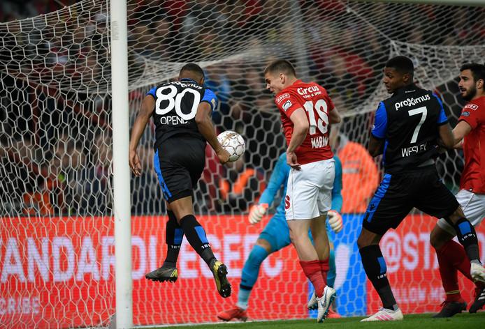 Un match passionnant entre le Standard et Bruges
