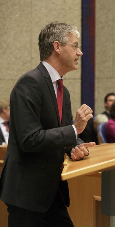 CU-leider Arie Slob Beeld null