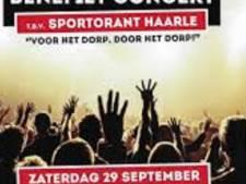 Benefiet voor opknappen van Sportorant in Haarle