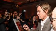Brad wie? Acteur draagt naamkaartje tijdens jaarlijkse Oscars-lunch