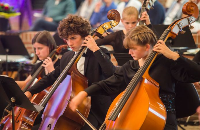 Zo'n 160 muzikaal getalenteerde kinderen treden zondagmiddag op tijdens het jaarlijkse Vuurvogel Familieconcert.