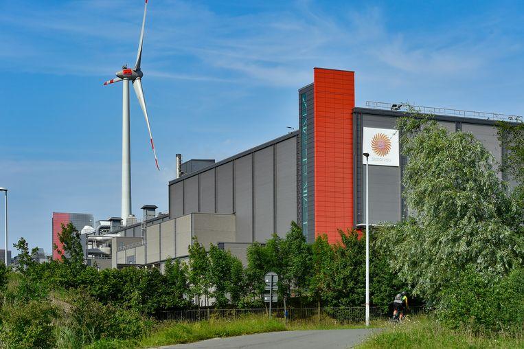 Papierfabriek Stora Enso in Gent.