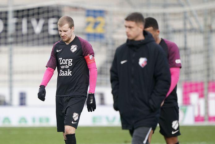 Tegen RKC ging het nog mis voor FC Utrecht