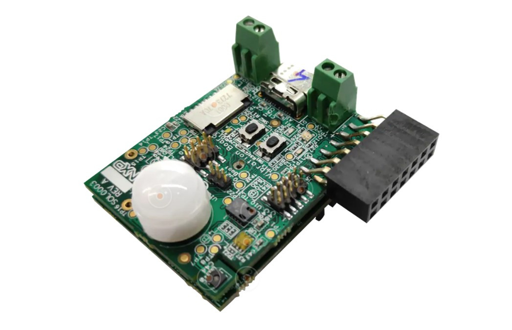 Het apparaat van NXP waarmee afwijkingen in apparaten kunnen worden voorspeld en gedetecteerd.