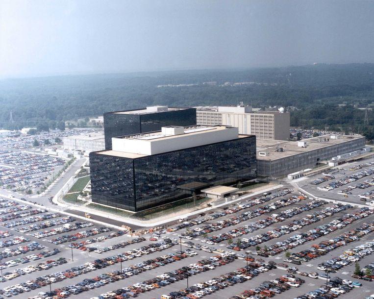 Hoofdkantoor van de NSA. Beeld afp