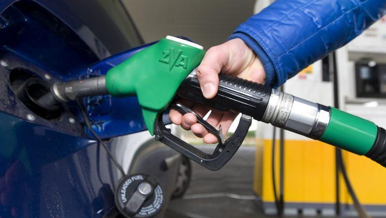 De benzineprijzen zouden in Nederland door een gebrek aan concurrentie veel hoger zijn dan elders. Foto ANP Beeld