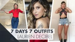 7 days 7 outifts met Laurien, jurylid in 'Dance As One'