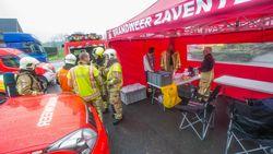 Deze wagen helpt brandweermannen op adem te komen