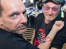 Tatoeage maakt Gerard tot 'Mister Bevrijdingsfestival'