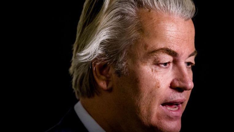 PVV-fractievoorzitter Geert Wilders. Beeld anp