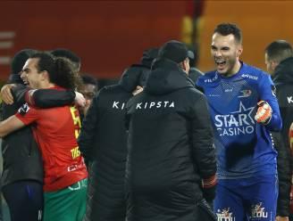 """Trainer Alexander Blessin opgelucht na winst KV Oostende  tegen AA Gent: """"Van december een gouden maand maken"""""""