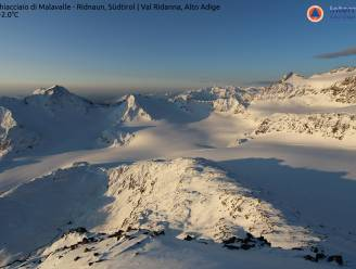 Polaire lucht zorgt voor koud weer en sneeuw in de Alpen
