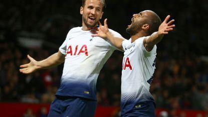 Spurs-Belgen demonstreren op Old Trafford, machteloos United blijft achter met drie op negen