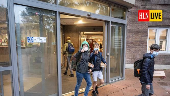 LIVE. Enkel Limburg nog op niveau 3 in barometer - Nederlandse experts willen scholen twee weken sluiten