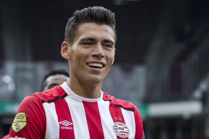 Matchwinnaarr tegen AZ was PSV-speler Hector Moreno