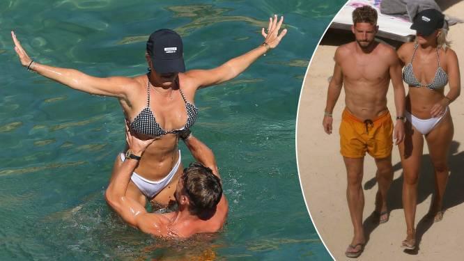 What happens in Ibiza... Dries Mertens en Kat Kerkhofs steken liefde niet weg op vakantie